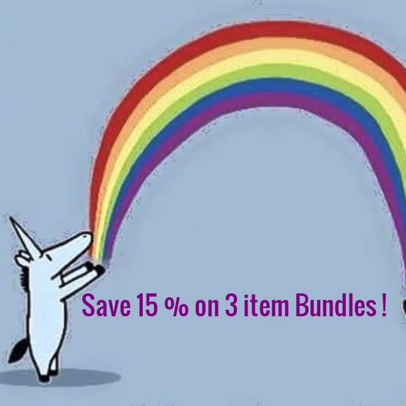 Save 15 % Off your purchase in 3 item Bundles !